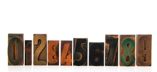 wooden print figures