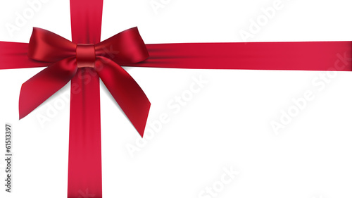 Red bow - 61513397