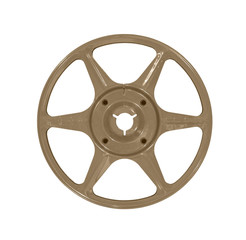 Vintage Brown Film Reel