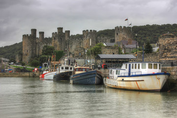Castle Conwy, United Kingdom, Wales