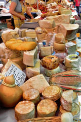 Cheese market.
