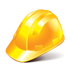 Safety helmet vector illustration