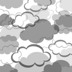 Clouds background design