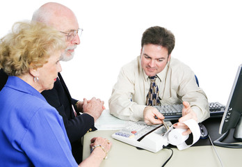 Seniors Consult Tax Accountant