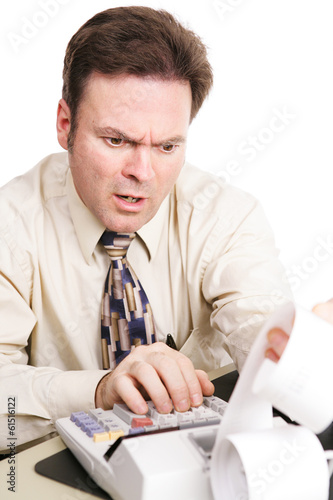 Tax Accountant with Bad News