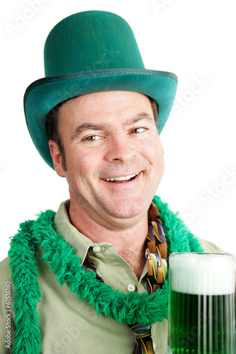 St Patricks Day - Drunk on Green Beer