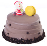 cake, Christmas ice cream cake