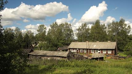 Остров Валаам. Дом местного жителя