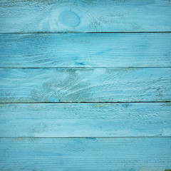 painted blue wooden planks texture