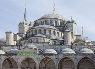 The New Mosque (Yeni Cami) in the center of Istanbul