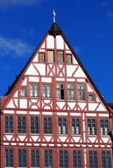 Dach eines Fachwerkhauses