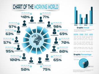 INFOGRAPHIC WORKERS IN THE WORLD BLUE 2