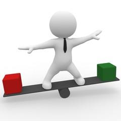 Balancing advantage disadavantage