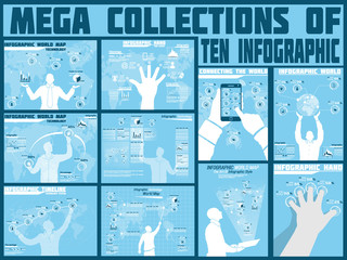 MEGA COLLECTIONS OF TEN INFOGRAPHIC TECHNOLOGY