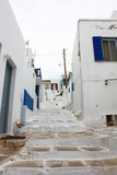 Small alley of Mykonos.