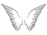 Love Wings Tribal Tattoo Flügel