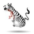 zebra shock