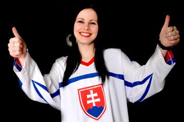 Sport Fan Woman
