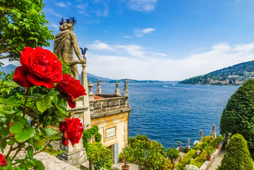 Isola Bella, Parkanlage, Lago Maggiore