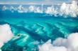 Leinwandbild Motiv Bahamas aerial