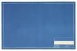 Leinwanddruck Bild - Empty Blueprint