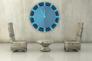 Wartezimmer - 3d Render