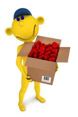 Yellow postman