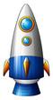 Постер, плакат: A deadly rocket