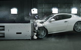Art photo of crashed car