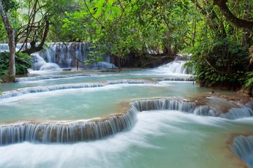 Kuang Si Waterfall. Luang Prabang. Laos.