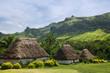 Traditional houses of Navala village, Viti Levu, Fiji - 61528178