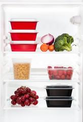 The refrigerator inside