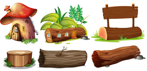 Different uses of woods