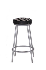 Zebra pattern stool