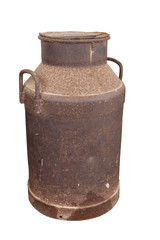 Rusted Old Milk Container
