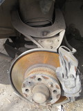 Rusted vehicle brake system