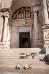 Saints Cosmas and Damian Basilica. Alberobello. Puglia. Italy.