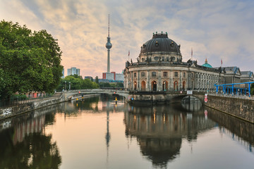 morning at Berlin city, Germany
