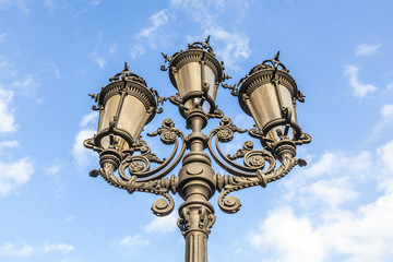 lantern at the opernplatz