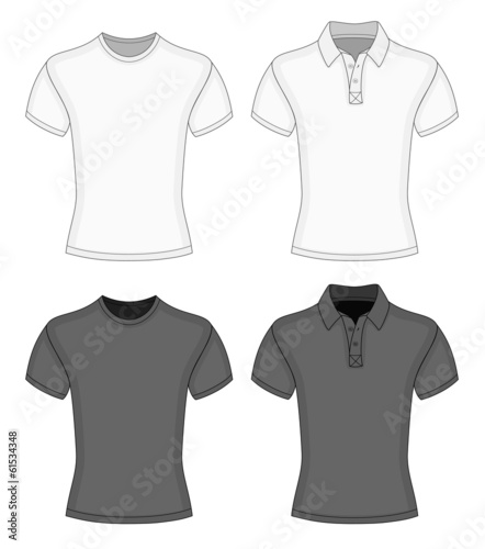 Men's t-shirt and polo-shirt