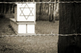 Jewish symbols in Stutthof concentration camp