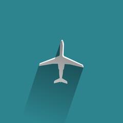 Aircraft. Vector format