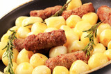 Cevapcici with potatoes