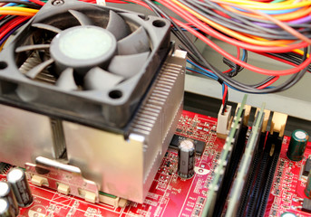 PC board & cooler