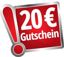 20 Euro Gutschein