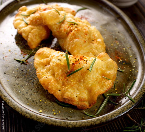 Spicy fried dumplings