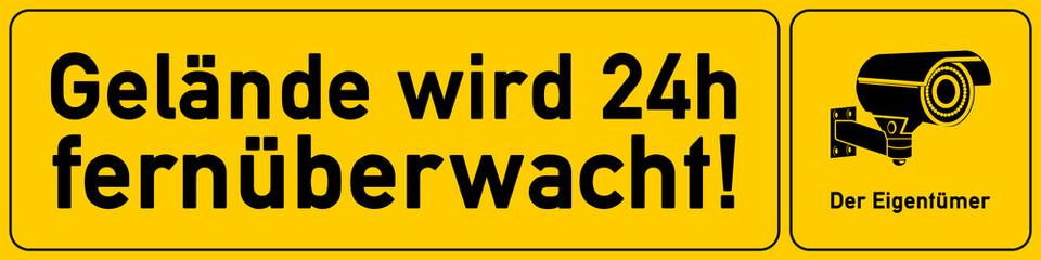 Gelände wird 24h fernueberwacht - g539 - vu31