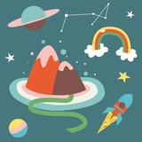 cosmos cartoon - 61539111