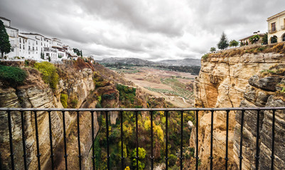 Picturesque view of Ronda city. Spain