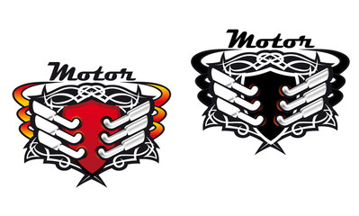 Motor sports icons